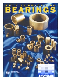 SHORLUBE Bearings Self Lubricating Bush Catalogue