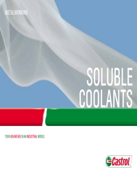 CASTROL Soluble Coolants Catalogue