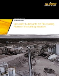KLUBER Lubricants Mining Industry Catalogue