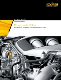 KLUBER Lubricants Automotive Industry Catalogue