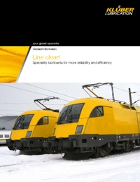 KLUBER Lubricants Rail Industry Catalogue
