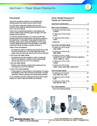 SPRAYING SYSTEMS CO Spraying Equipment Section I Catalogue