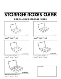 FISCHER Storage Clear Storage Box Brochure
