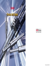 IKO Bearings Stroke Ball Spline LS Series Brochure