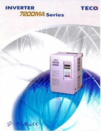 TECO Electric Motors Inverter 7200MA Series Catalogue