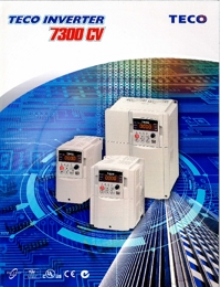 TECO Electric Motors Inverter 7300CV Series Catalogue