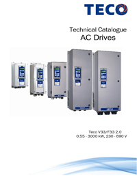 TECO Electric Motors AC Drives Catalogue