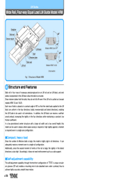 THK Linear Bearings HRW Series Catalogue