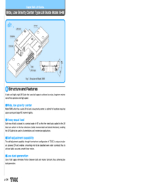 THK Linear Bearings SHW Series Catalogue