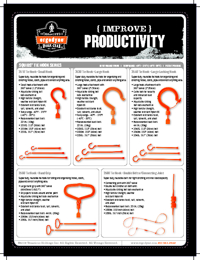 ERGODYNE Workwear Tie Hook Brochure