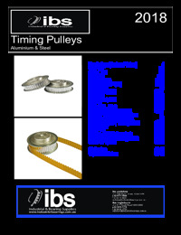 Timing Pulleys IBS