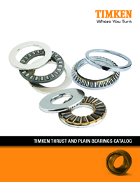 TIMKEN Bearings Thrust & Plain Series Catalogue