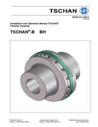 TSCHAN Couplings B & BH Series Catalogue