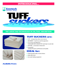 ENRETECH Tuff Suckers Brochure
