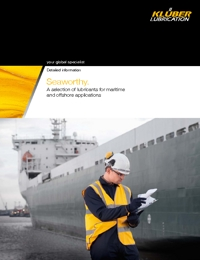 KLUBER Lubricants Maritime & Offshore Industry Catalogue 2