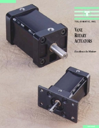 TOLOMATIC Power Transmission Vane Rotary Actuators Catalogue