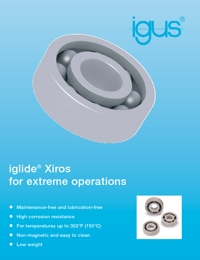 IGUS Polymer & Plastic Bearings Ball Bearing Brochure