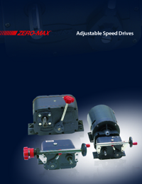 ZERO MAX Power Transmission Adjustable Drives Catalogue