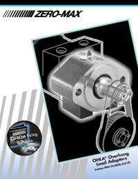 ZERO MAX Power Transmission Overhung Load Adaptors Catalogue
