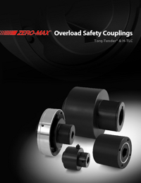 ZERO MAX Power Transmission Overload Safety Couplings Catalogue