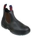 Claret Kip Elastic Sided Safety Boot